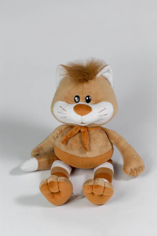 Большая мягкая игрушка кот